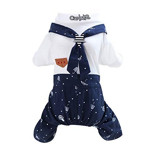 Tangpan Navy Cosplay Pet Dog Cotton Casual Skirt Camp Dress...