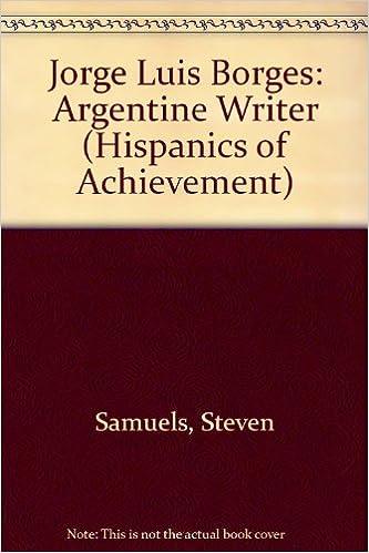 Kostenloser voller Bücher-Download Jorge Luis Borges (Hispanics)(Oop) (Hispanics of Achievement) by Adrian Lennon 0791012360 in German PDF