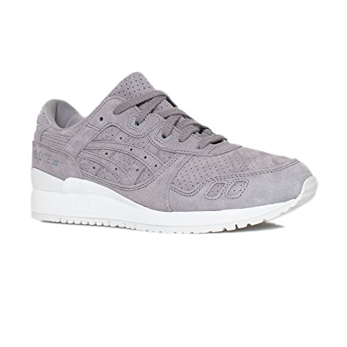 big sale 0cd9a 1a778 Galleon - ASICS Tiger Men's Gel-Lyte III Aluminum/Aluminum 9 ...