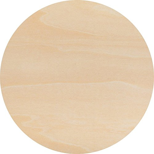 """16"""" inch Wood Circle Cutouts from Baltic Birch 