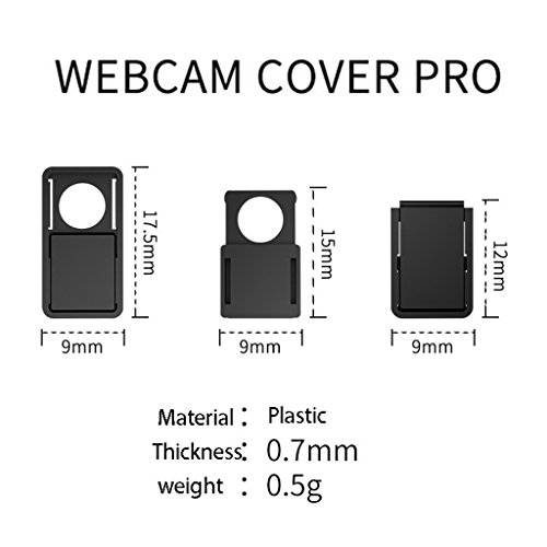 1-15X Webcam Cover Slider Camera Shield Privacy Protect Sticker for Laptop Phone