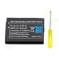 Ersatzakku / Ersatzbatterie / Akku 3.7V 2000mAh Für Nintendo 3DS Spielekonsole
