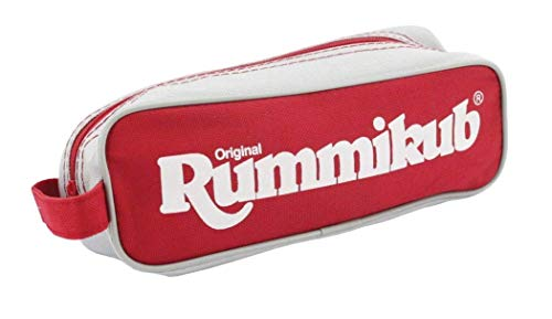 Amazon Exclusive Pressman Rummikub - The Complete Original Game With Full-Size Racks and Tiles in a Durable Canvas Storage \ Travel Case by Pressman