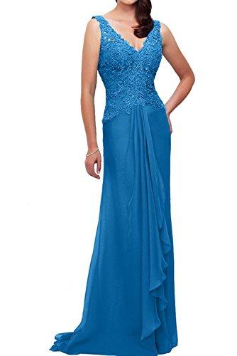 Standsamt Etuikleider Festlichkleider La Blau Brautmutterkleider Abendkleider Lang Weinrot mia Braut Partykleider Kleider T1zOFH