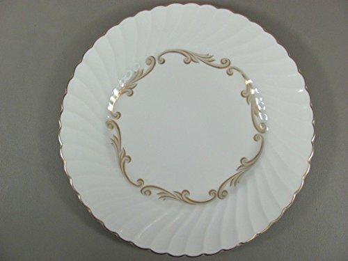 Syracuse China BAROQUE-GRAY Dinner Plate