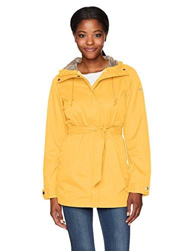 b4b56699855b8 Columbia Women's Pardon My Trench Rain Jacket, Yellow Ray, XL ...