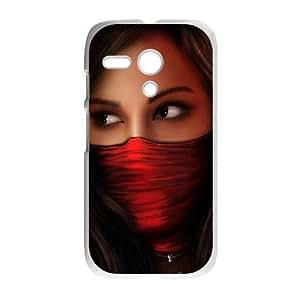 Motorola G Cell Phone Case White Warriors Spears SLI_614607