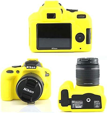 Funda de Silicona Carcasa de Silicona para cámara Nikon D3400 ...