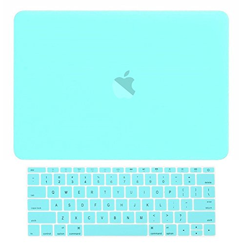 TOP CASE Rubberized Keyboard Turquoise