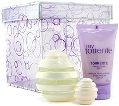 Coffret Perfume My Torrente 50 ml Eau de Parfum + 50 ml Creme cuerpo + 5 ml miniatura: Amazon.es: Belleza