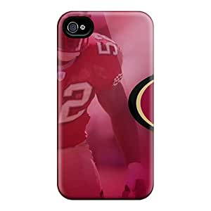 Bumper Hard Cell-phone Case For Iphone 4/4s With Custom Beautiful San Francisco 49ers Pattern JasonPelletier