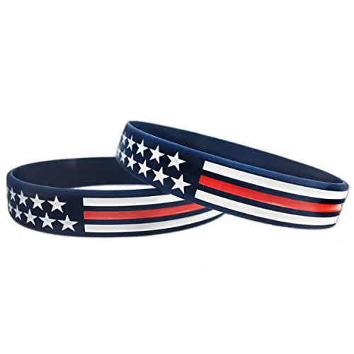 Red, White, and Blue American Bracelet (Standard 8