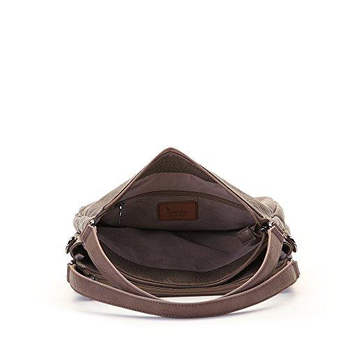 Abbacino Aretha, Shopper para Mujer, 25x10x33 cm (W x H x L) Hueso (Taupe)