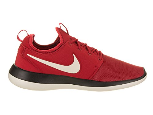 Red Black Nike Pale Men's Running Roshe Grey Shoe Two Gym YzqYxa