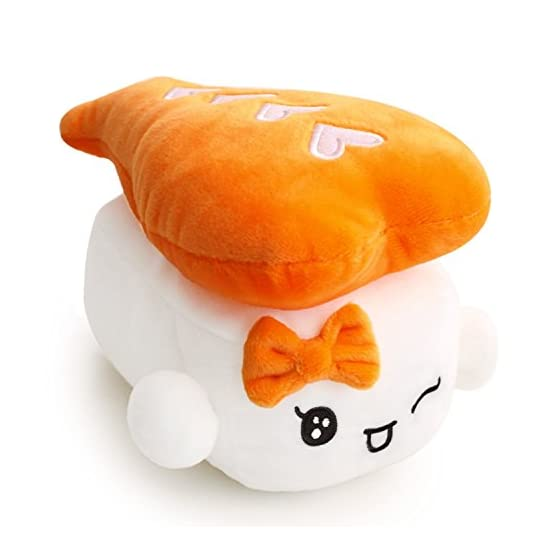 Sushi Plushies - Egg, Shrimp, Tuna 6