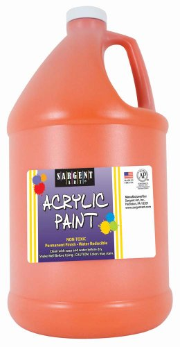 Sargent Art 22-2714 64-Ounce Acrylic Paint, Orange