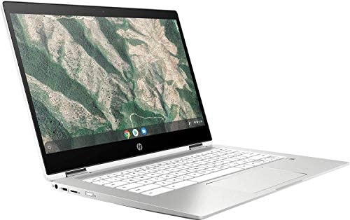 2021 Flagship HP Chromebook x360 14 2 in 1 Laptop 14″ FHD Touchscreen Display Intel Quad-Core Pentium Silver N5000 4GB DDR4 64GB eMMC 256GB SD Card WiFi USB-C B&O Chrome OS + iCarp Wireless Mouse 41M9ponYyYL