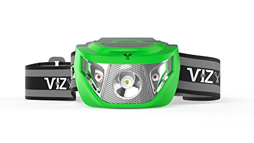 LED Headlamp Flashlight - See the Road and Stay Safe - 3 Bright White & 2 Red Lights - Running, Hiking, Camping, Dog Walking and Night Safety for Kids - Lightweight & Waterproof