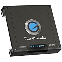 Planet Audio Ac1500.1M Anarchy Class Ab Monoblock Amp (1,500W Max) 14.50In. X 12.00In. X 4.90In.