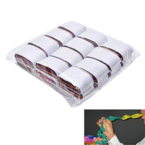 Littlepiano 12 Pcs/set Mouth Coils Paper Magic Tricks Magic Prop Magician Supplies Toys