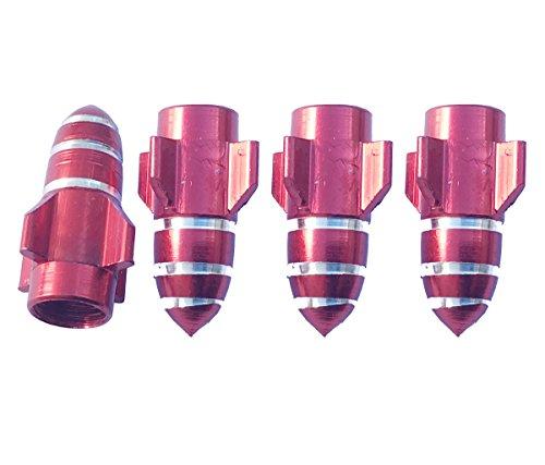 4pcs-aluminum-burgundy-red-rocket-tire-tyre-wheel-valve-dust-stems-cap-cover-for-lincoln-navigator