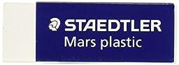 Staedtler Mars Latex-Free Eraser, White, 1 Eraser (STD52650)