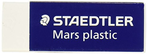 Staedtler Mars Latex-Free Eraser, White, 1 Pack  (STD52650) - Staedtler Business Pen
