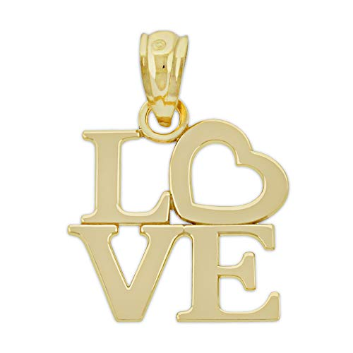 Charm - Gold Love Square...