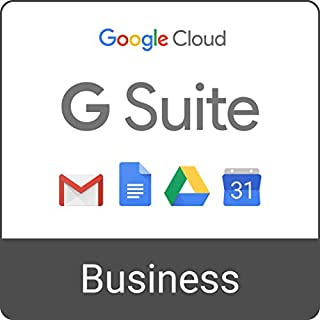 G Suite Business | Monthly Subscription with Auto-renewal | includes Business Gmail, unlimited Drive storage, Docs, Calendar, and more (B06XH85GJQ) | Amazon price tracker / tracking, Amazon price history charts, Amazon price watches, Amazon price drop alerts
