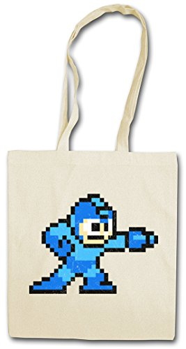 "MEGA BOY ""J�?HIPSTER BAG �?Man Game 16 Bit Retro Video Game Console Gamepad Joypad NES 80s Sprite Pixel"