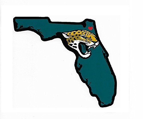 - Rico Industries NFL Jacksonville Jaguars Home State Sticker
