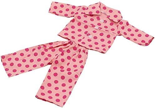 ZheJia ドール服 ピンク 2 PCSセット パジャマパジャマドール服Fits18インチアメリカンガール