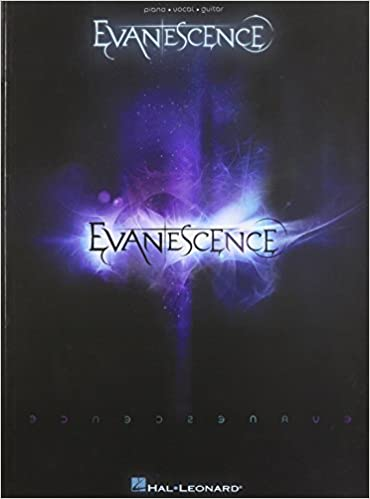 Hal Leonard Evanescence Evanescence Songbook For Pianovocal