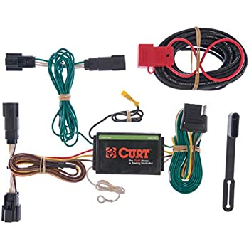 curt 56120 vehicle-side custom 4-pin trailer wiring harness for select ford  edge