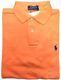 Men Custom Fit Mesh Polo Shirt