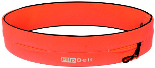 FlipBelt Level Terrain Waist Pouch, Neon Punch, X-Small/22-25'' by FlipBelt (Image #2)