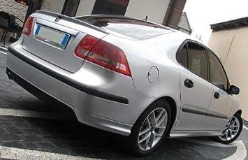 Saab 9 3 Aero Heckschürzenansatz Heckspoiler Spoiler 2002 2007 Auto