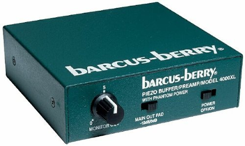 Barcus Berry 4000PRE 1-Key Grand Piano 4000 Pre-Amplifer by Barcus Berry