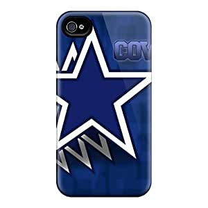 New Design Shatterproof SwF362eFBQ Case For Iphone 4/4s (dallas Cowboys)