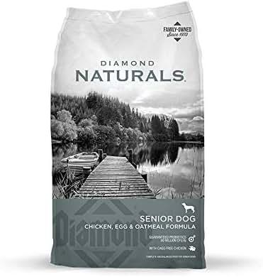 Dog Food: Diamond Naturals Senior