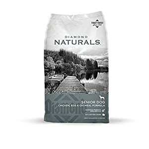 Diamond Naturals Senior Real Meat Recipe Natural Dry Dog Food With Real Cage Free Chicken, 35Lb 101