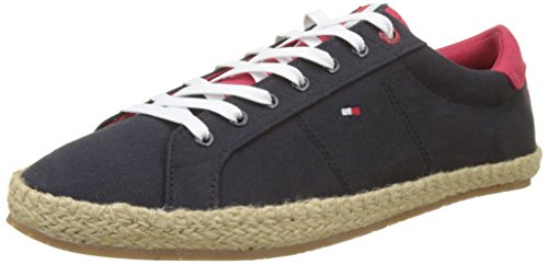 Hilfiger Textile Tommy Homme Up 403 Sneakers Midnight Bleu Basses Espadrille Lace ZqxSwa