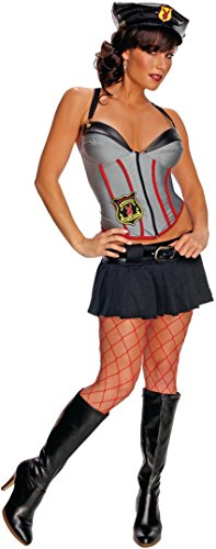 Secret Wishes Women's Playboy Mansion Security Costume, Multicolor, Large