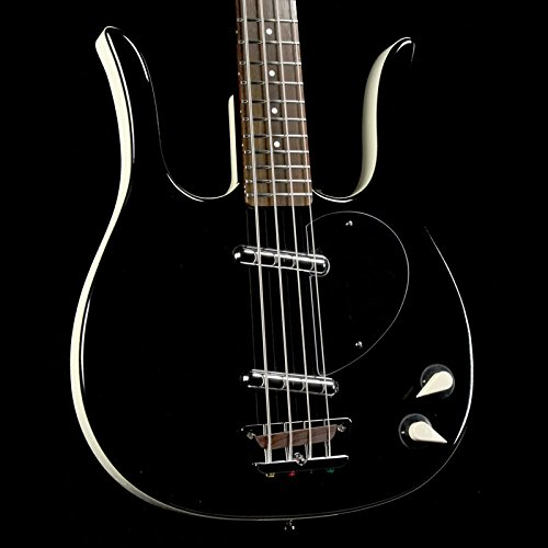 Danelectro '58 Longhorn Bass Electric Bass Guitar Black (Danelectro Bass)
