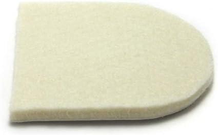 100 Felt Heel Cushion/Lifts for Shoes