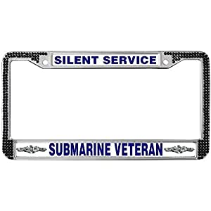 Amazon Com Gnd License Plate Frame And Covers Silent