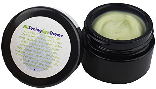 Living Libations - Organic/Wildcrafted All Seeing Eye Creme (15 ml)