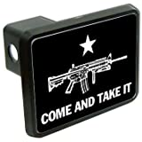 """AR15 come and take it 2"""" Tow Trailer Hitch Cover Plug Truck Pickup RV"""