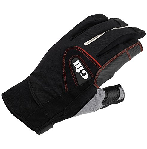 Gill Championship Long Finger Sailing Gloves 2017 - Black XS