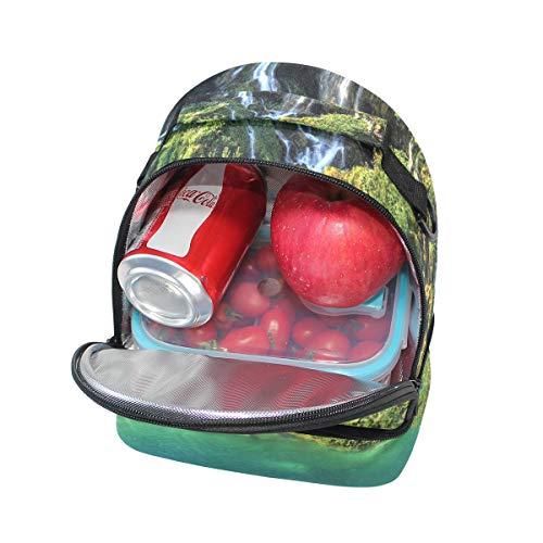 pique épaule de Sac nique pour déjeuner Croatie Parc Sangle national Plitvice Cooler en à double réglable RRqC6wH